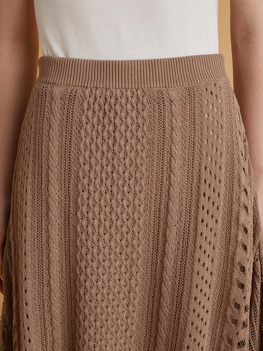 レーシーニットスカート | RWNS214028