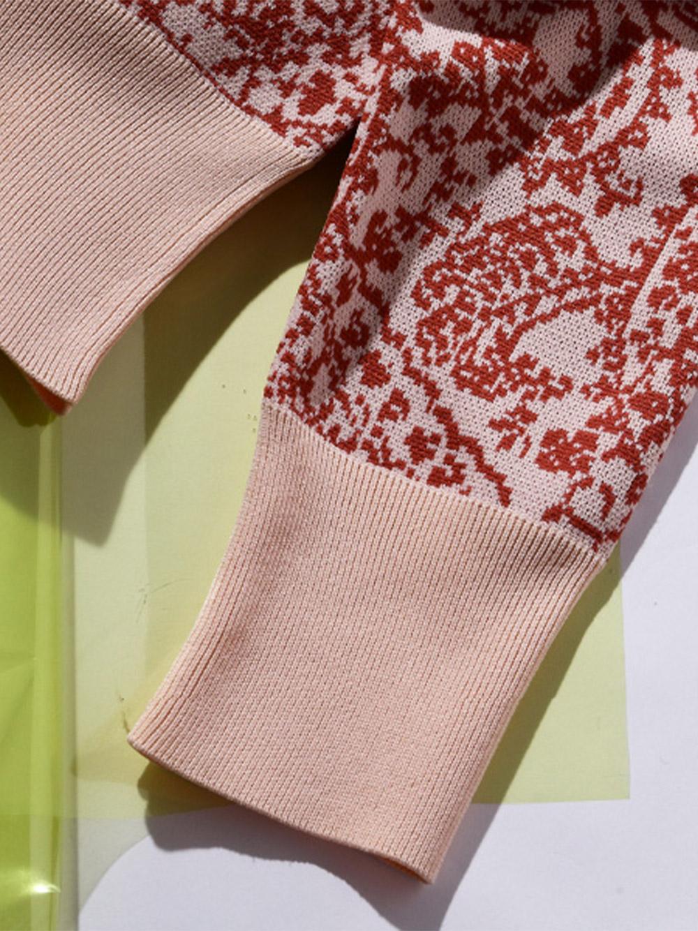 ハーフジャガードセーター | RWNT211064