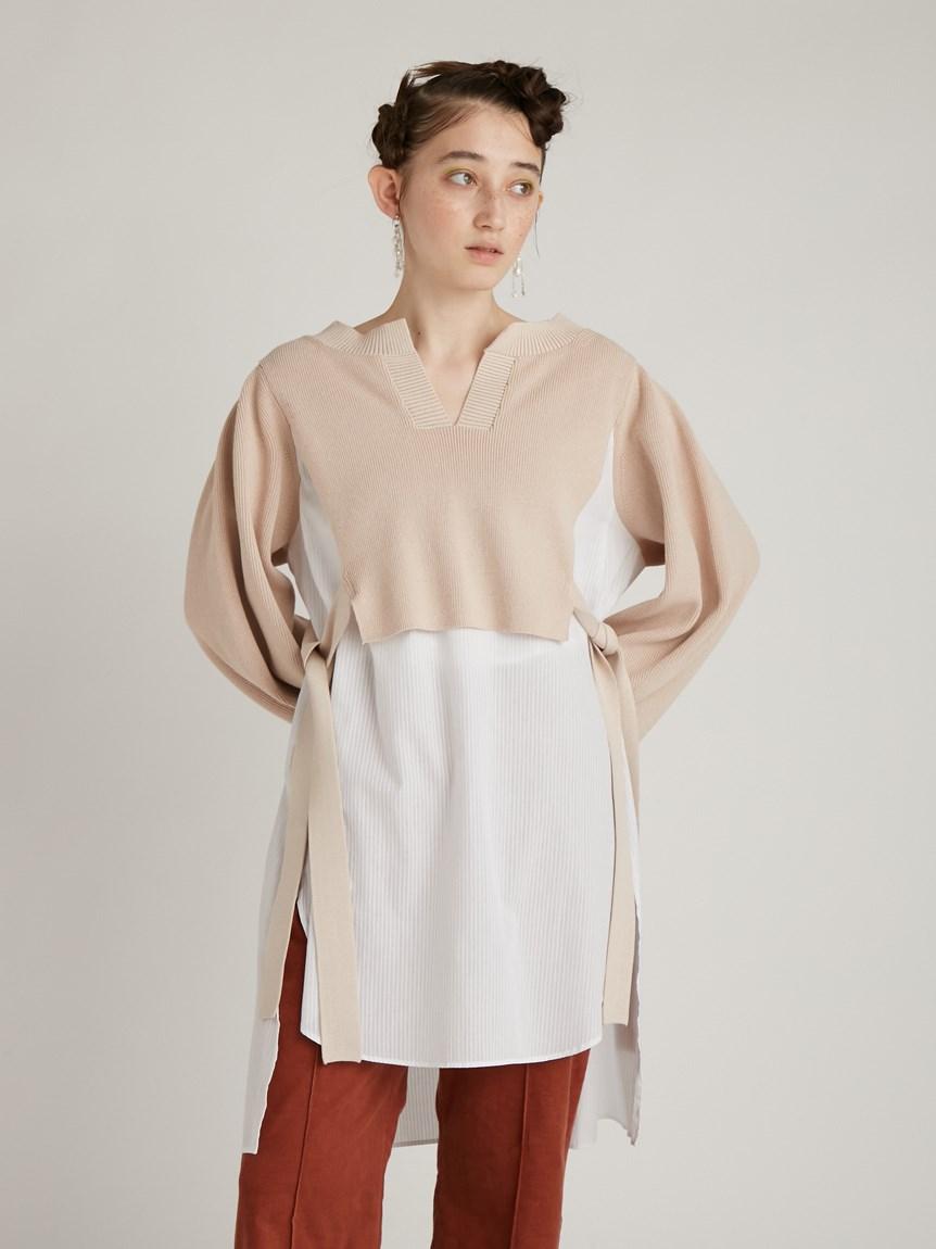 シャツドッキングセーター   RWNT214057