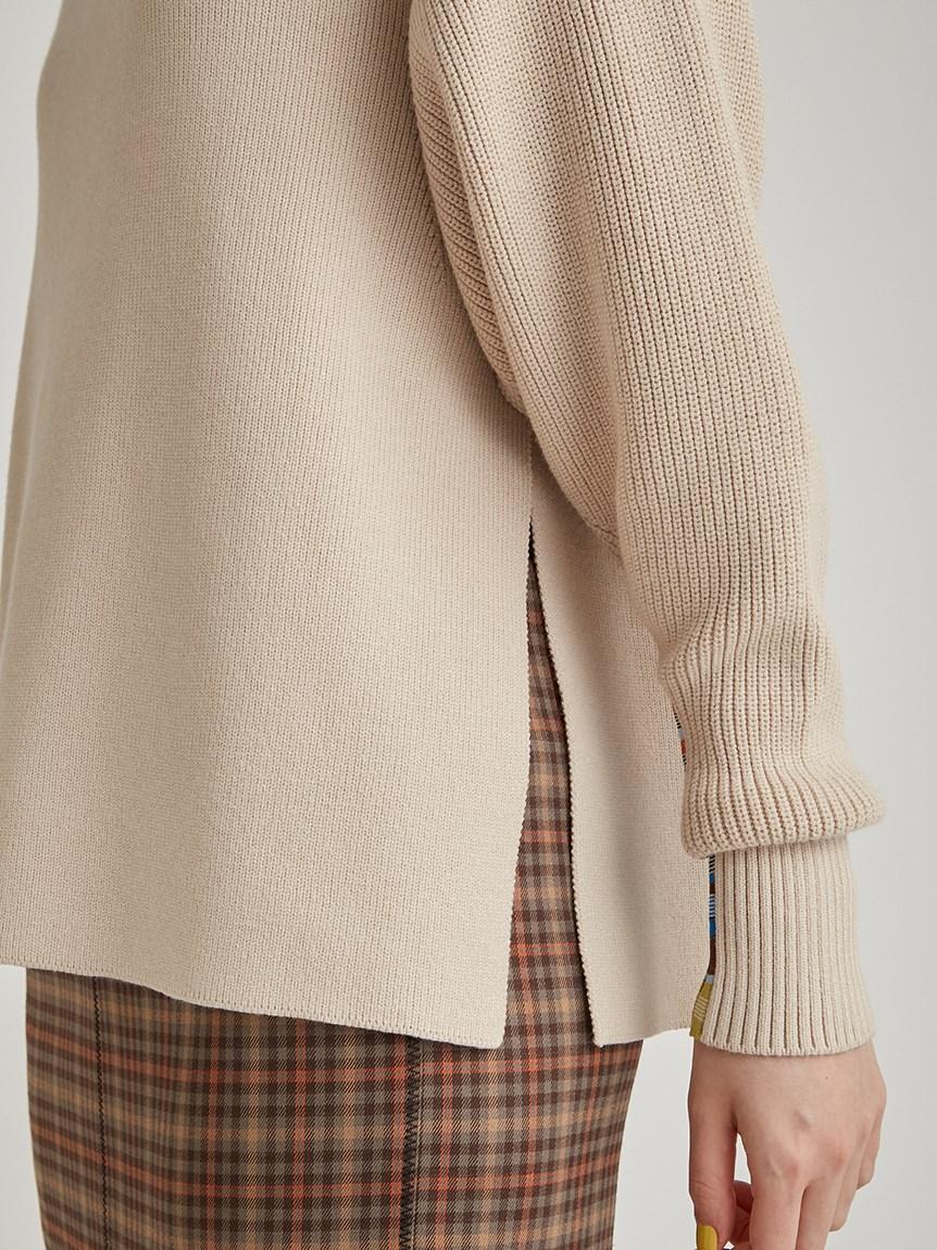 マルチボーダースリーブセーター   RWNT215055