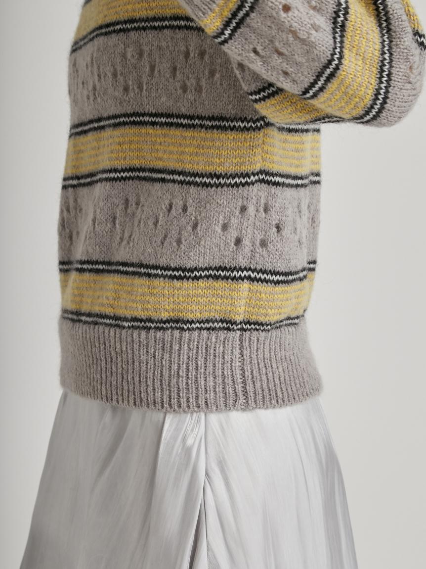 アイレットボーダーセーター | RWNT215058