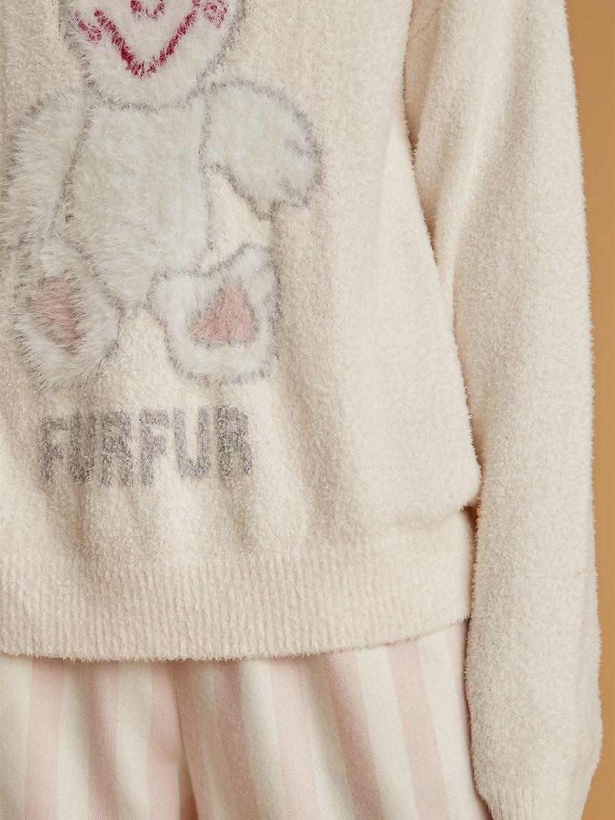 【FURFUR×gelato pique】スムーズィースースキスー♡プルオーバー | RWNT215080