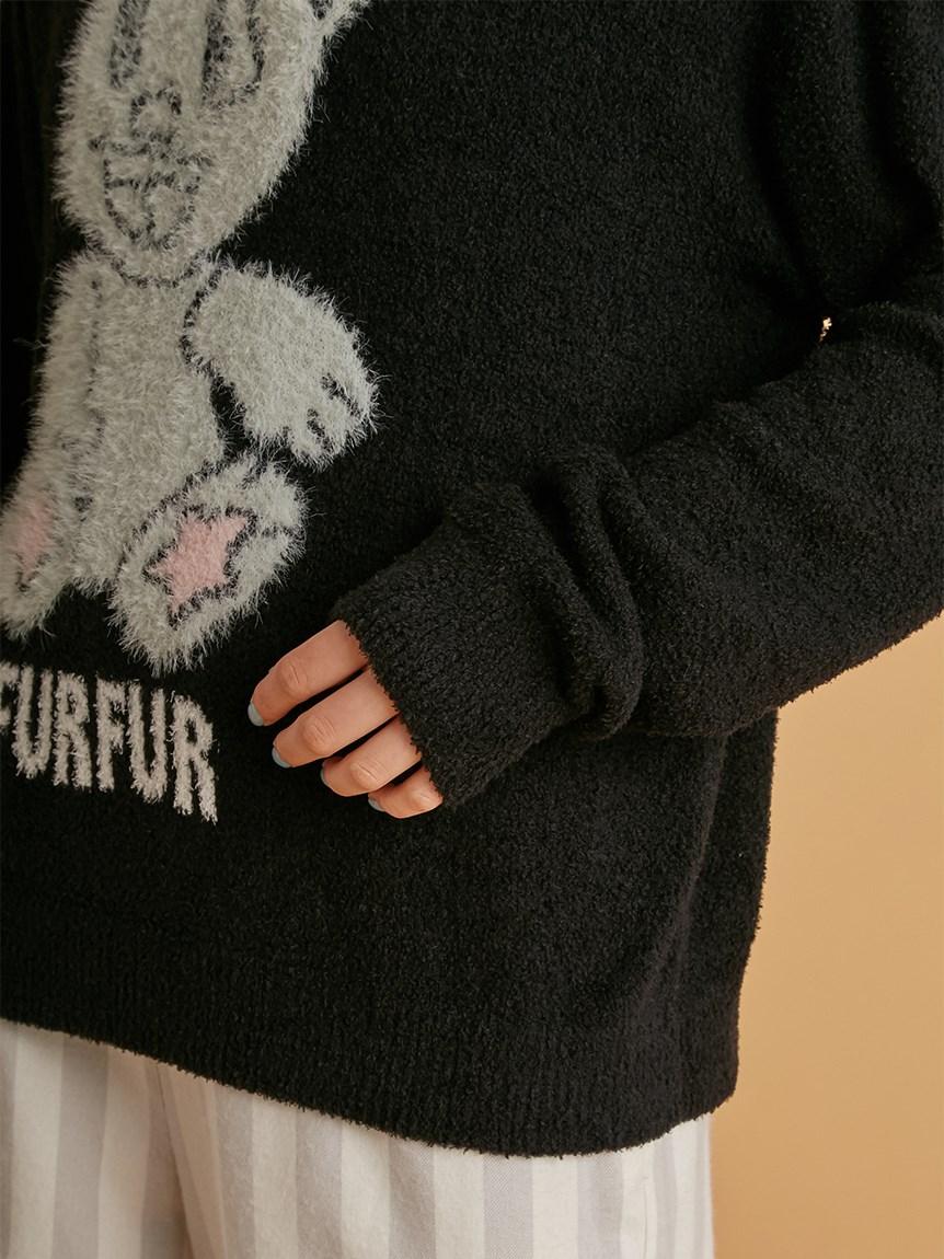 【FURFUR×gelato pique】スムーズィーナイト☆ティアプルオーバー | RWNT215081