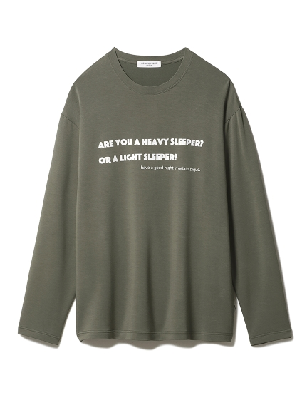【GELATO PIQUE HOMME】 光電子インレーワンポイントプルオーバー(KKI-M)
