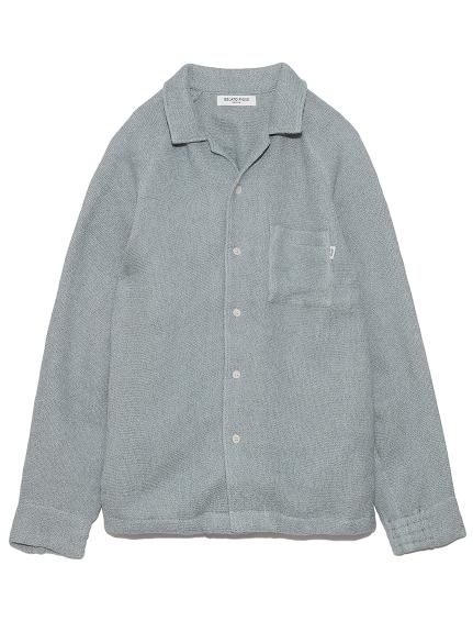 【GELATO PIQUE HOMME】 タオルパジャマシャツ