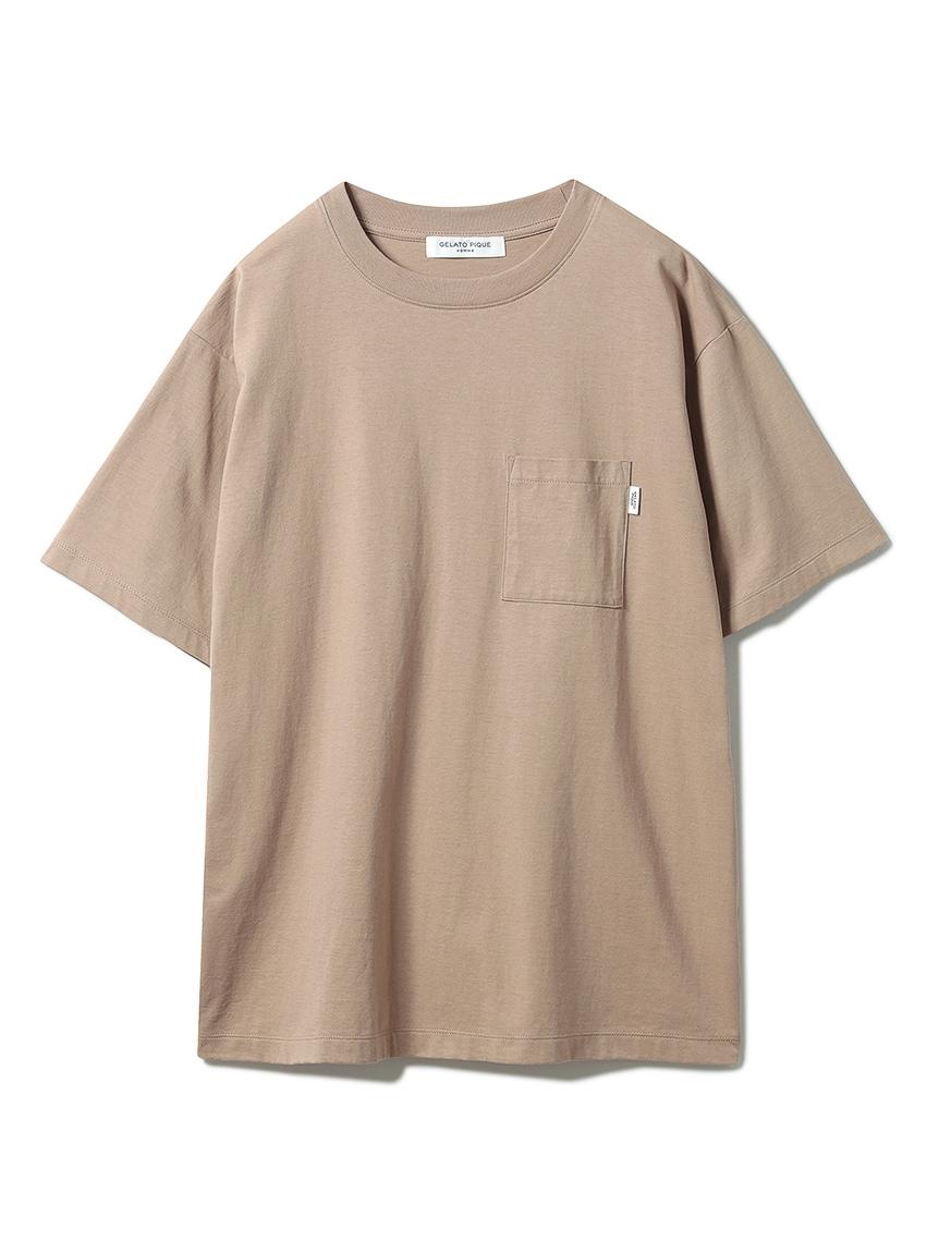 【GELATO PIQUE HOMME】 オーガニックコットンTシャツ(BRW-M)