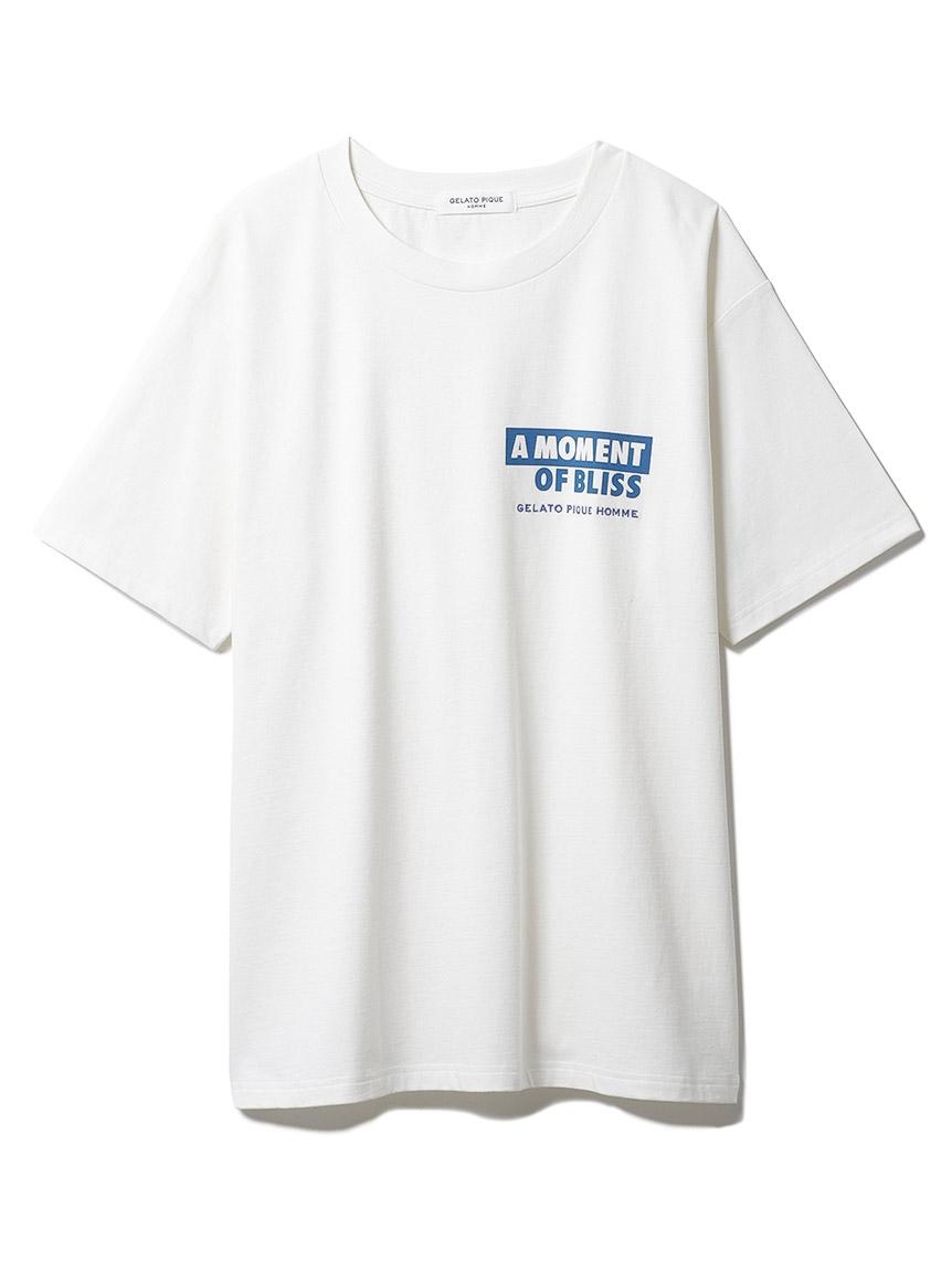 【GELATO PIQUE HOMME】 カポックプレーティングTシャツ