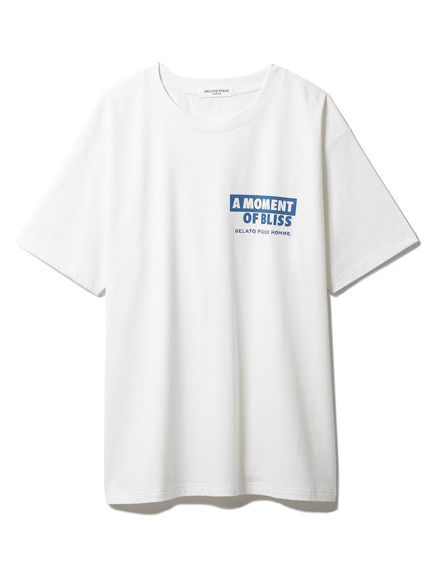 【GELATO PIQUE HOMME】 カポックプレーティングTシャツ(OWHT-M)