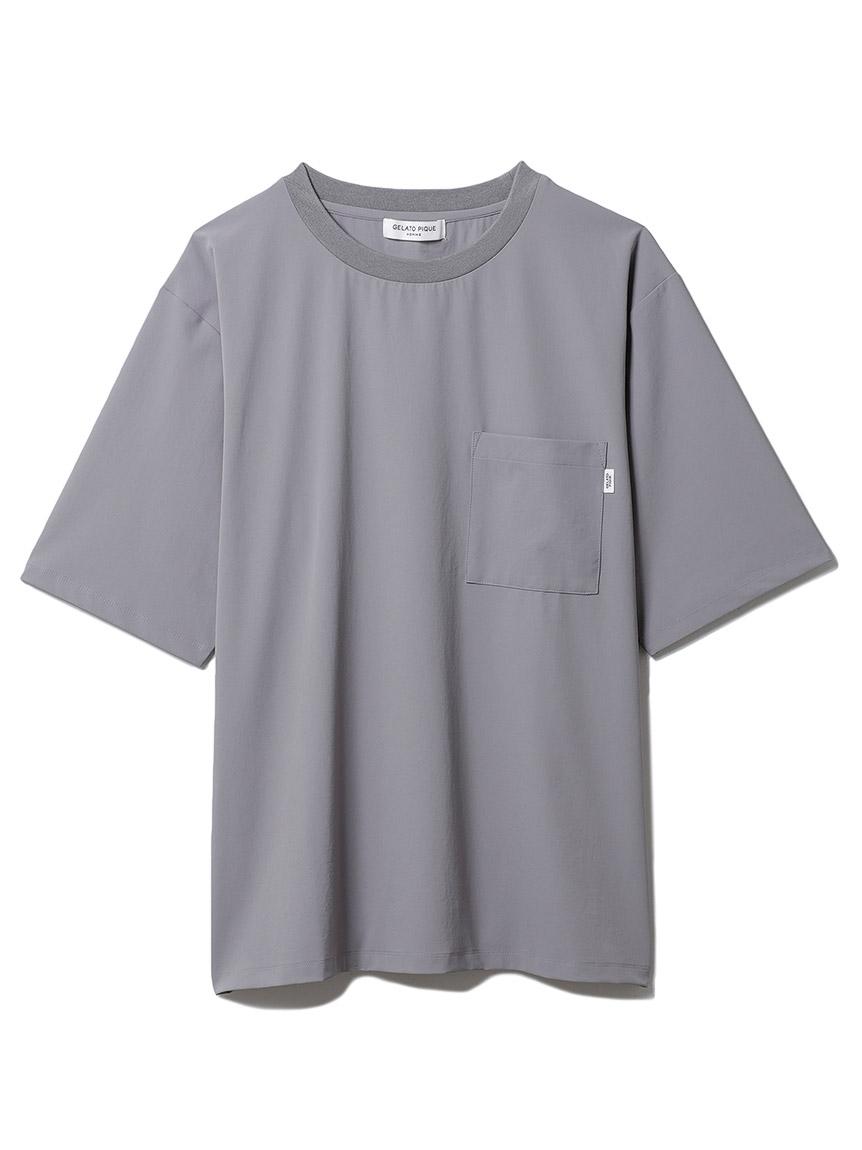 【GELATO PIQUE HOMME】 ストレッチTシャツ(CGRY-M)