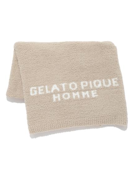 【GELATO PIQUE HOMME】 パウダーブランケット(BEG-F)