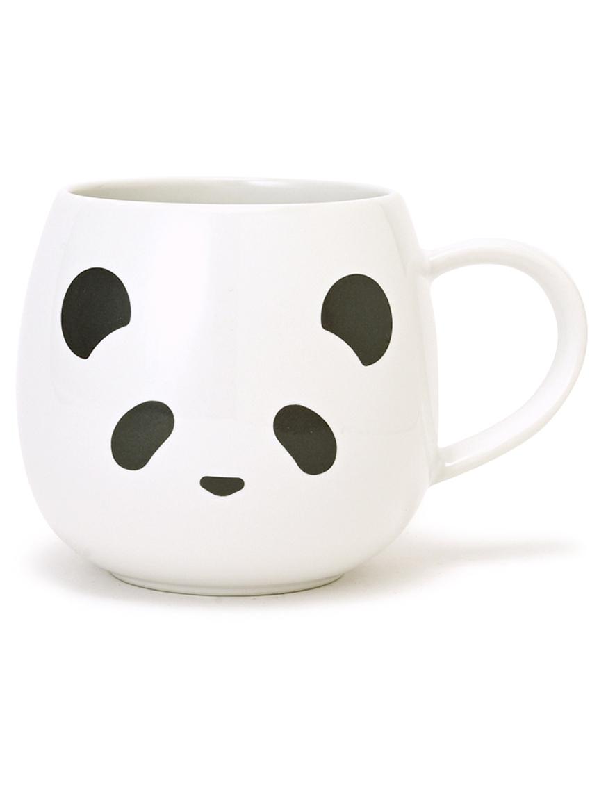 【GELATO PIQUE CAFE】パンダマグカップ(BLK-F)