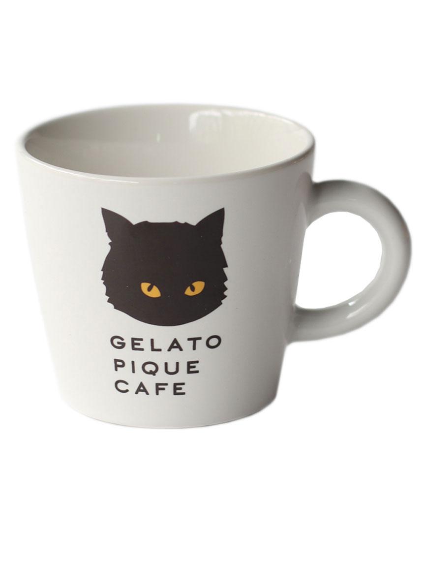 【GELATO PIQUE CAFE】ネコマグカップ(OWHT-F)