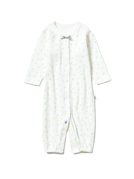【新生児】 リトルフラワー2wayオール
