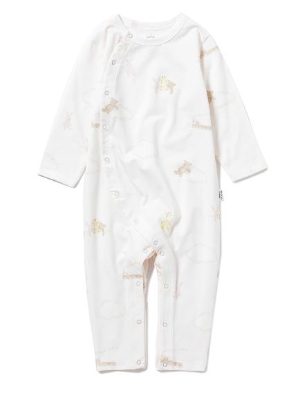 【BABY】ドリームアニマル baby ロンパース(PNK-70)