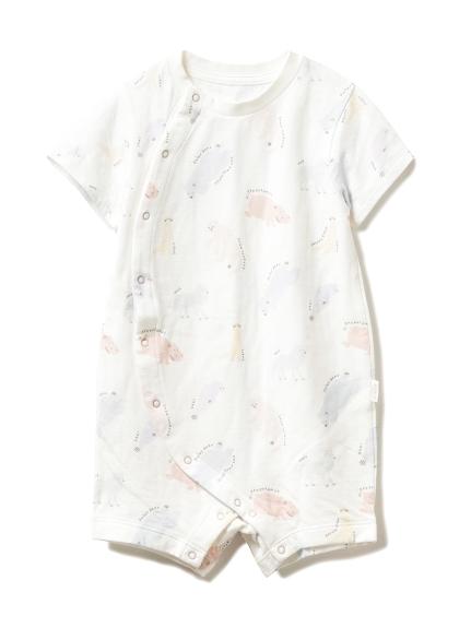【旭山動物園】ペイントアニマルモチーフ baby ロンパース