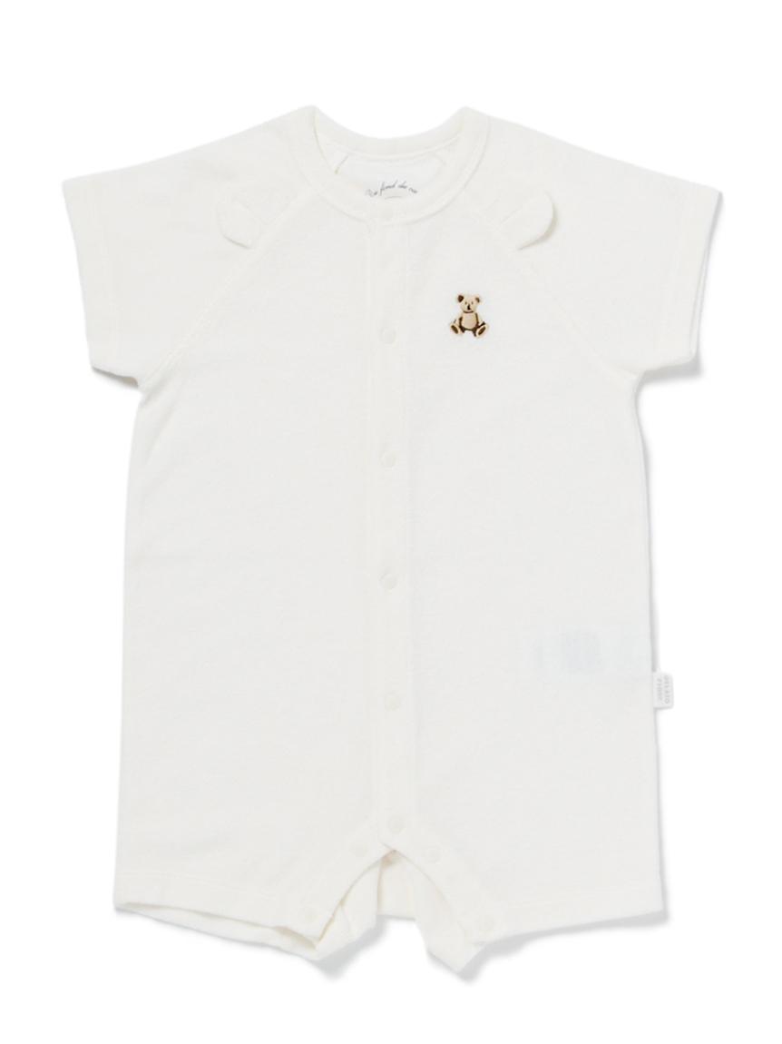 【ONLINE限定】抗菌防臭パイルベア baby ロンパース
