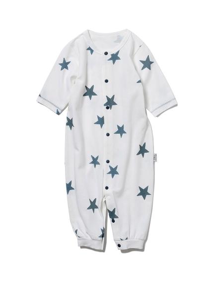 【新生児】スターモチーフ2wayオール