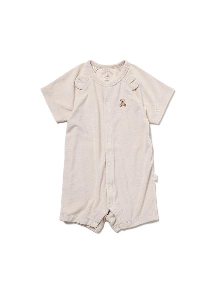 【ONLINE限定】【BABY】 ベアパイル baby ロンパース