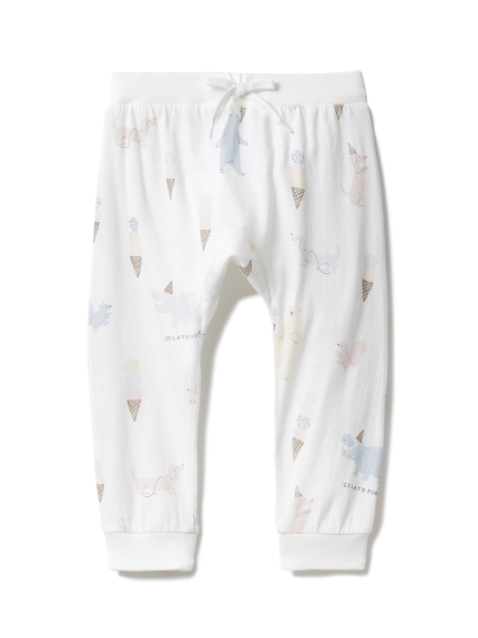 【BABY】アイスクリームアニマル baby ロングパンツ