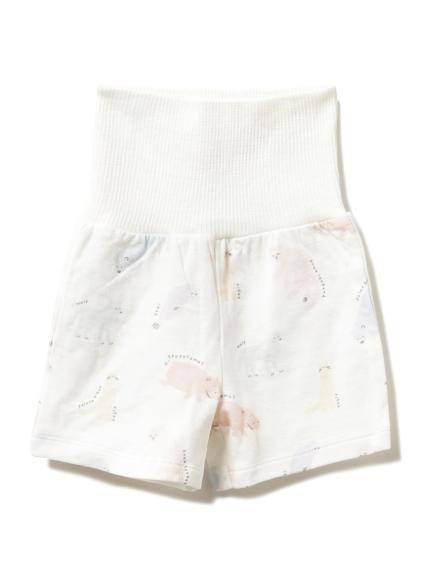 【旭山動物園】ペイントアニマル baby ショートパンツ