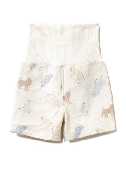 【旭山動物園】ペイントアニマル baby ショートパンツ(BEG-70)