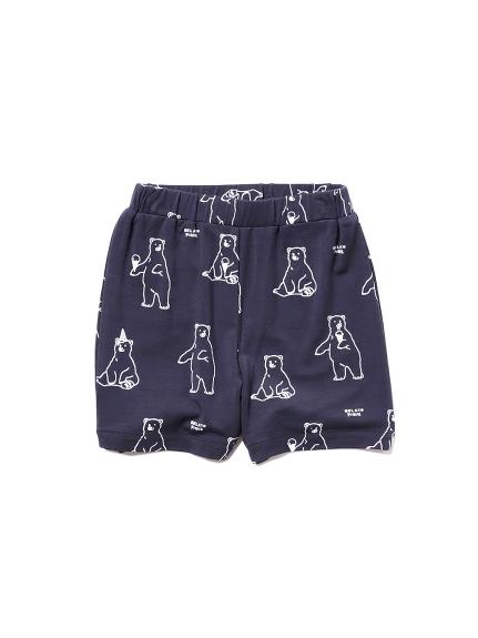 【シロクマフェア】シロクマモチーフ冷感 baby ショートパンツ
