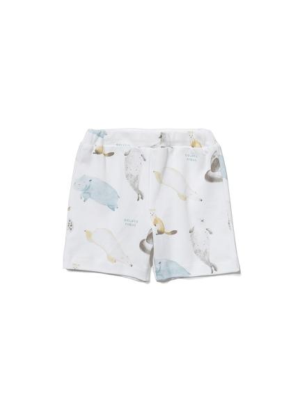 【BABY】【旭山動物園】アニマルモチーフ baby ハーフパンツ