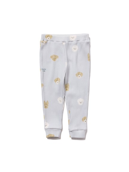 【BABY】メレンゲドッグ柄 baby ロングパンツ