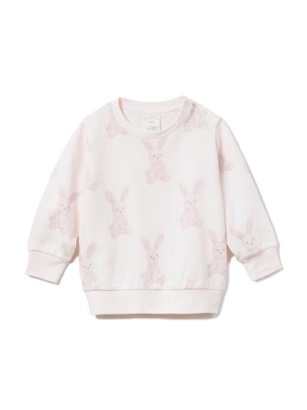 【BABY】ウサギ baby プルオーバー(PNK-70)