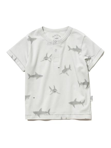 シャークモチーフ baby Tシャツ