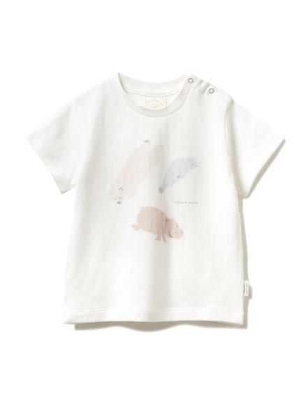 【旭山動物園】ペイントアニマル baby Tシャツ(OWHT-70)