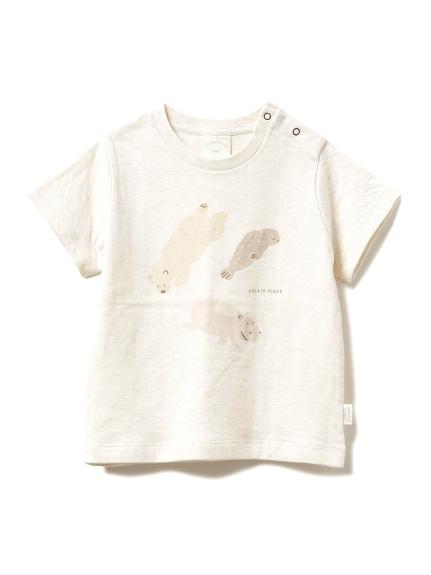【旭山動物園】ペイントアニマル baby Tシャツ(BEG-70)