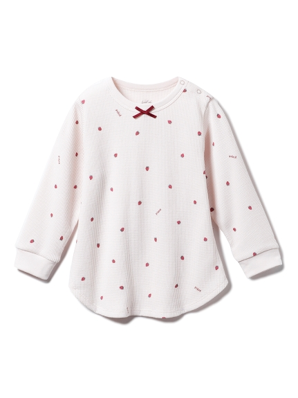 【BABY】ストロベリー baby ワッフルプルオーバー