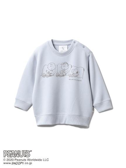 【ONLINE限定】【PEANUTS】裏毛 baby プルオーバー(BLU-70)