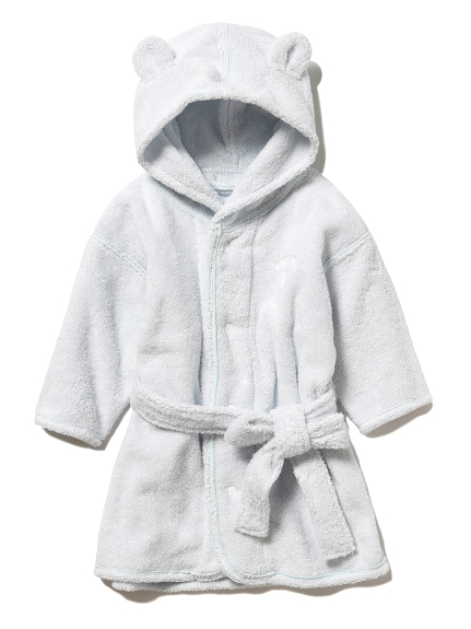 【ONLINE限定】 baby タオルバスローブ(LBLU-80)