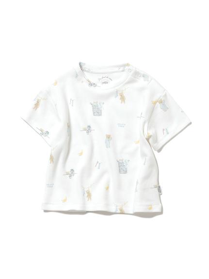 【BABY】モーニングベア baby Tシャツ(OWHT-70)