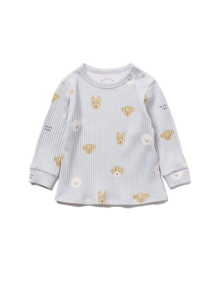 【BABY】メレンゲドッグ柄 baby プルオーバー