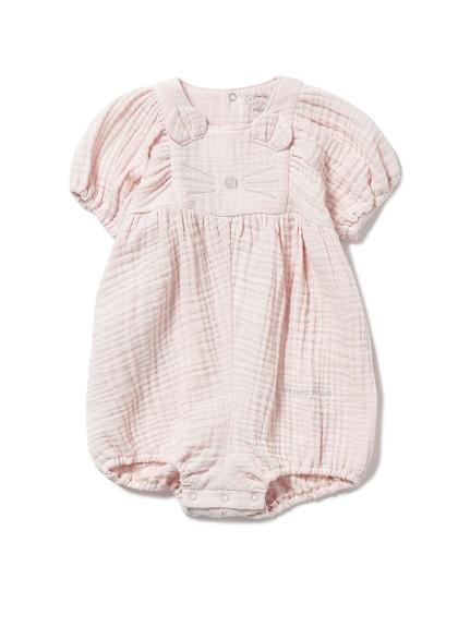 【BABY】アニマルガーゼ baby ショートロンパース