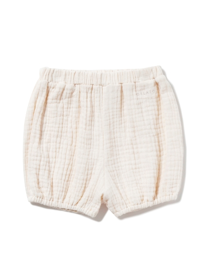 【BABY】ガーゼ baby ショートパンツ(BEG-F)