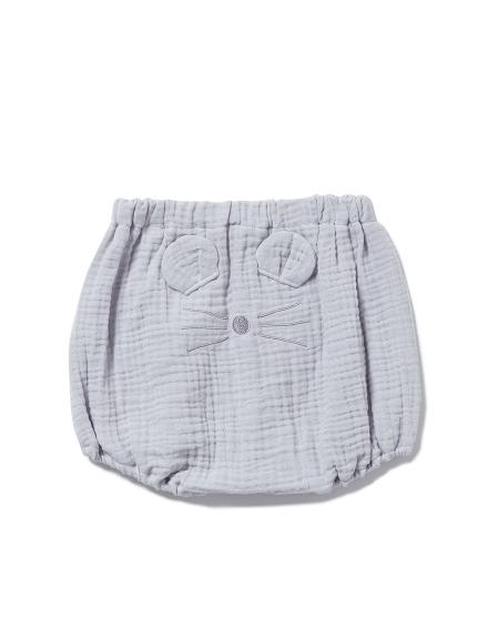 【BABY】アニマルガーゼ baby ショートパンツ(BLU-70)