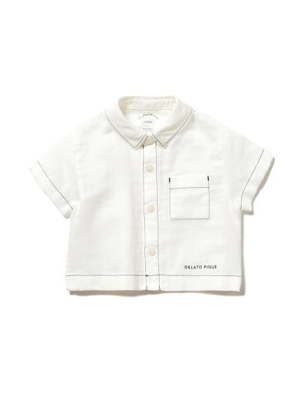 マリンガーゼ baby ボーイズシャツ(OWHT-70)