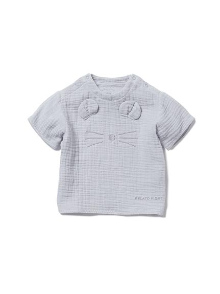 【BABY】アニマルガーゼ baby Tシャツ
