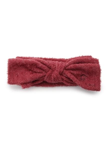 【BABY】'スムーズィー' baby リボンヘアバンド(RED-F)