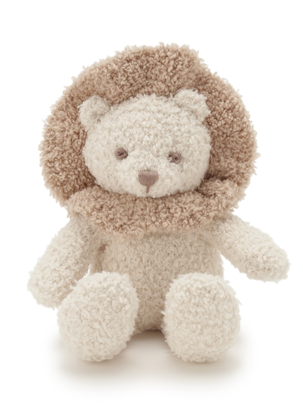 【BABY】'ベビモコ'ライオン baby ガラガラ(BEG-F)