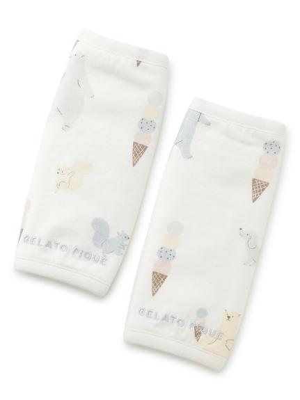 【BABY】アイスクリームアニマル baby 抱っこひもカバー(OWHT-F)