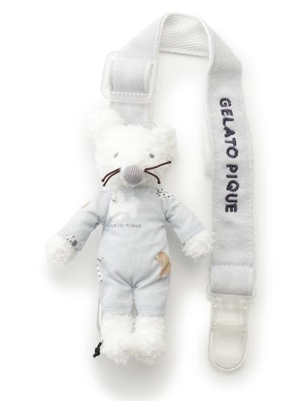 【BABY】'ベビモコ'ネズミ baby マルチクリップ(BLU-F)