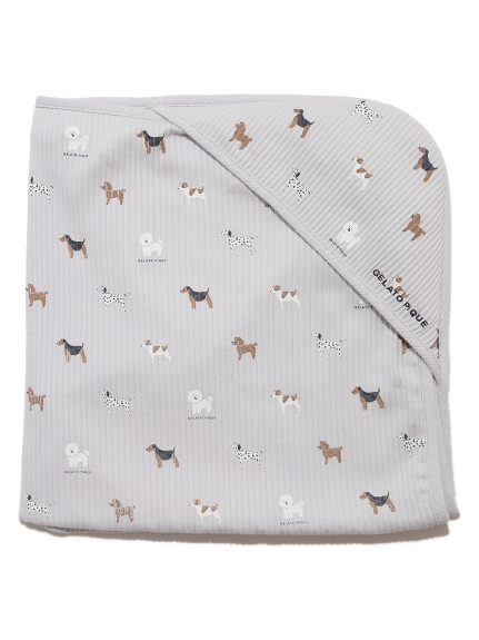 【BABY】DOG baby ブランケット(BLU-F)