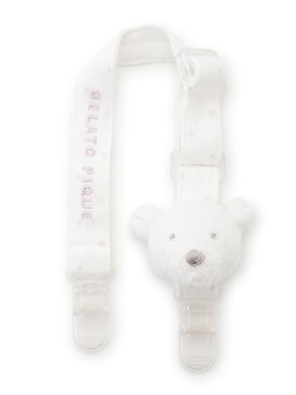 【旭山動物園】'スムーズィー'クマ baby マルチクリップ(PNK-F)