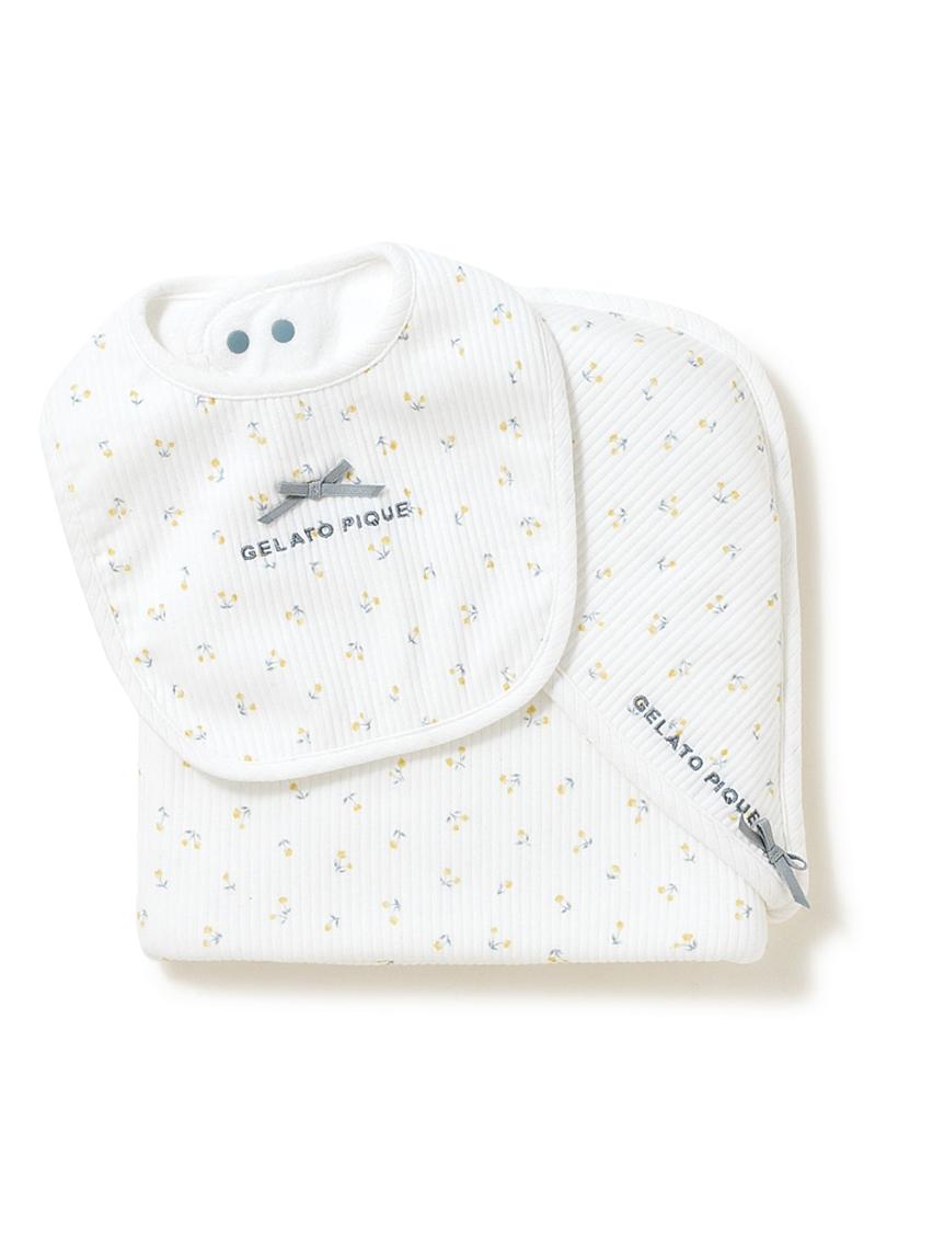 【ラッピング】babyブランケット&スタイSET