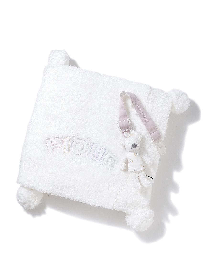 【ラッピング】Babyベビモコねずみマルチクリップ&ブランケット(OWHT-F)